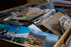 Learn how to declutter photos at Care to Move's downsizing seminar