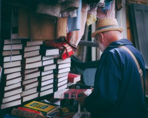 downsizing donate books to charity